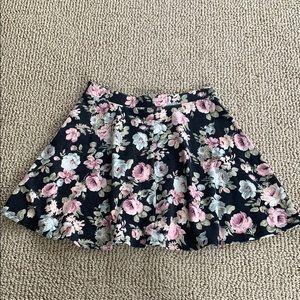 Forever 21 Skirts - Forever 21 floral skater skirt
